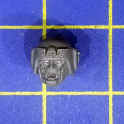 Wh40k IG Cadian Command Squad Head D