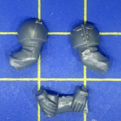 Wh40k IG Cadian Command Squad Medic Arms