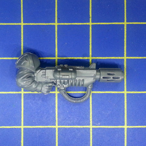 Cadian Command Squad *BITS* Lasergewehr Arm links