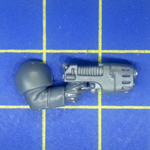 Wh40k IG Cadian Command Squad Arm with Plasma Pistol