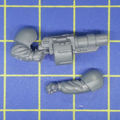 Wh40k IG Cadian Shock Troops Grenade Launcher