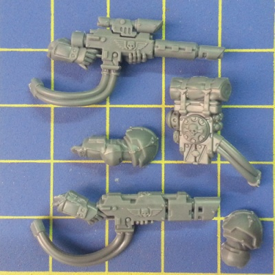 Wh40k IG Astra Militarum Tempestus Scions Hot-Shot Lasgun C Hot-Shot Volley Gun