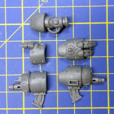 Wh40k Adeptus Mechanicus Kastelan Robots Robot Right Arm