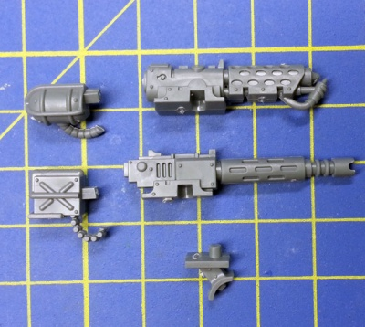 Wh40k Adeptus Mechanicus Kastelan Robots Robot Weapon Kit