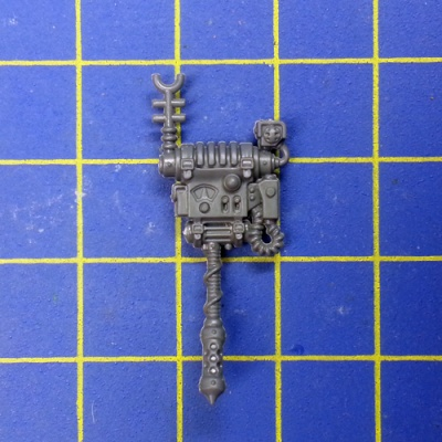 Wh40k Adeptus Mechanicus Skitarii Rangers/Vanguard Backpack A