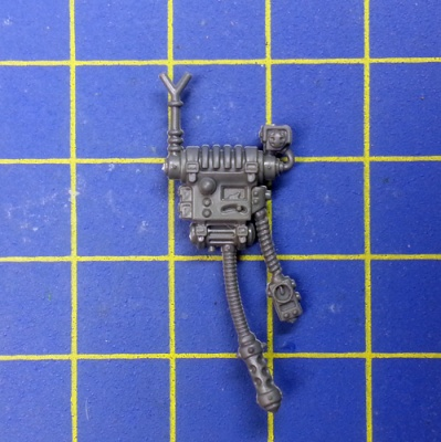 Wh40k Adeptus Mechanicus Skitarii Rangers/Vanguard Backpack C