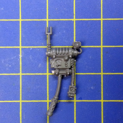 Wh40k Adeptus Mechanicus Skitarii Rangers/Vanguard Backpack D