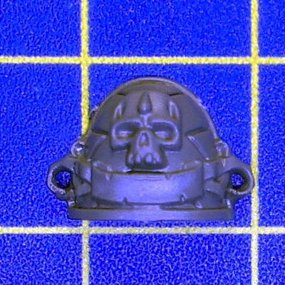 Wh40k BA Death Company Shoulder Pad A