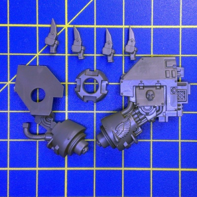 Wh40k BA Dreadnought Close Combat Weapon Left