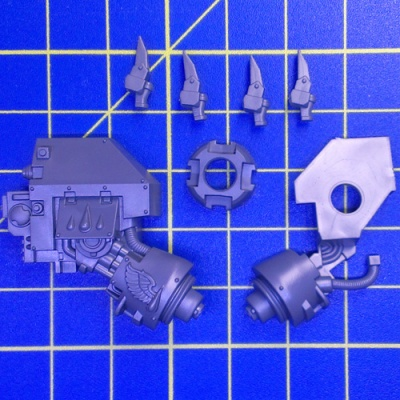 Wh40k BA Dreadnought Close Combat Weapon Right