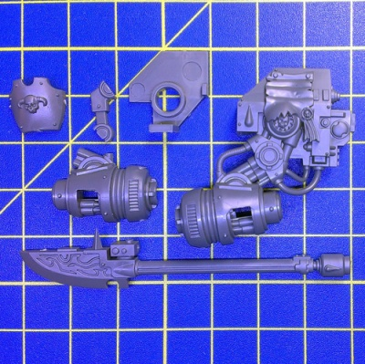 Wh40k BA Dreadnought Librarian Force Weapon