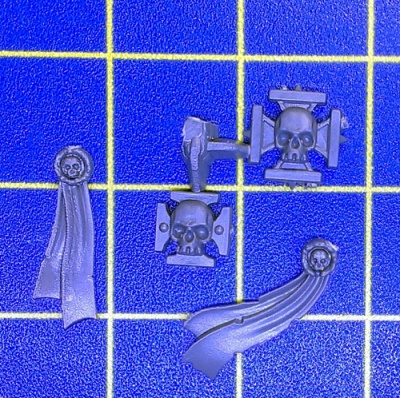 Wh40k BA Dreadnought Purity Seals & Symbols