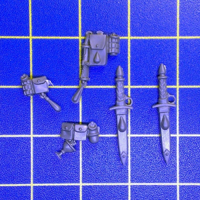 Wh40k BA Sanguinary Guard Accessories