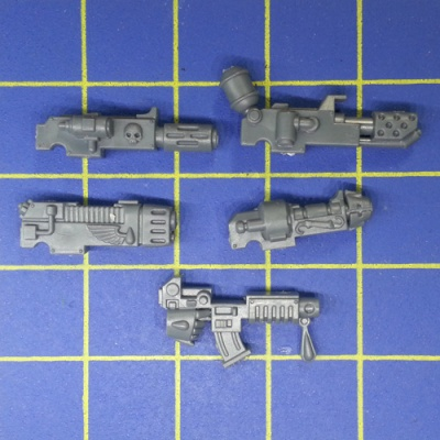 Wh40k Blood Angels Tactical Squad Combi-weapon Kit