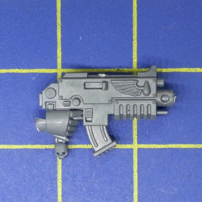 Wh40k Blood Angels Tactical Squad Bolter B