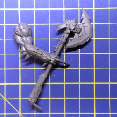 Wh40k CD Daemon Prince Arm with Axe