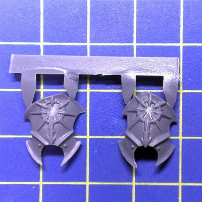 Wh40k CD Daemon Prince Legs Armour