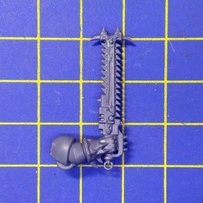 Wh40k CSM Raptors Raptors Chainsword Right B