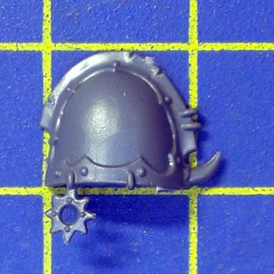 Wh40k CSM Raptors Shoulder Pad E