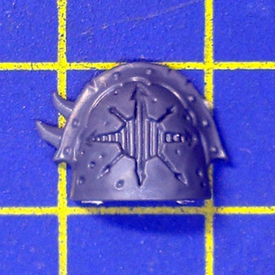 Wh40k CSM Raptors Shoulder Pad H