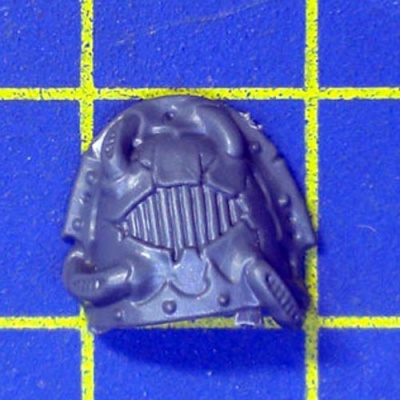 Wh40k CSM Raptors Shoulder Pad I