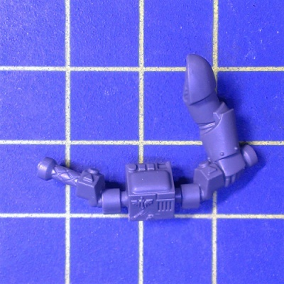Wh40k DA Ravenwing Command Squad Bike Handlebar with Left Arm