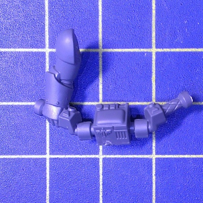 Wh40k DA Ravenwing Command Squad Bike Handlebar with Right Arm