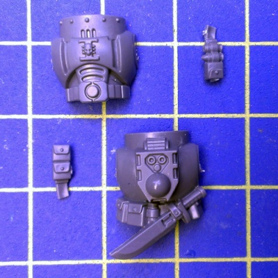Wh40k Deathwatch Kill Team Torso A