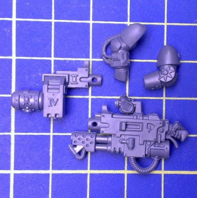 Wh40k Deathwatch Kill Team Infernus Heavy Bolter