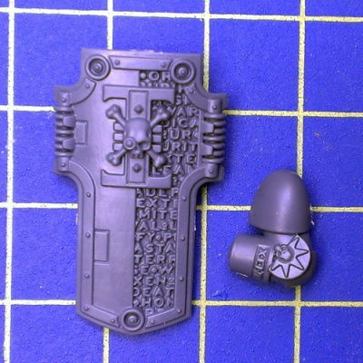 Wh40k Deathwatch Kill Team Storm Shield Left