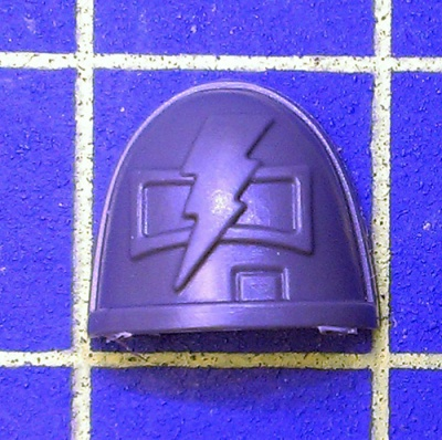 Wh40k Deathwatch Kill Team Shoulder Pad White Scars