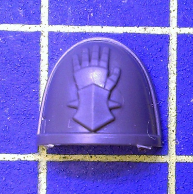 Wh40k Deathwatch Kill Team Shoulder Pad Iron Hands