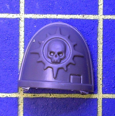 Wh40k Deathwatch Kill Team Shoulder Pad Novamarines