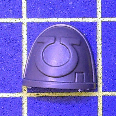 Wh40k Deathwatch Kill Team Shoulder Pad Ultramarines