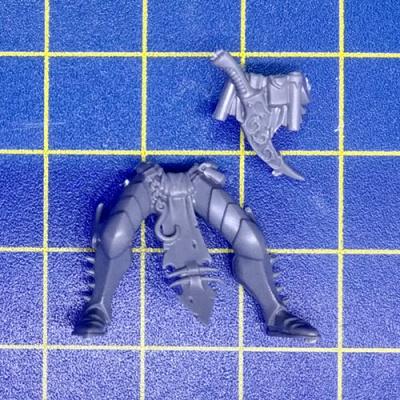 40K Drukhari Kabalite Warriors Legs Bits 10 Bitz