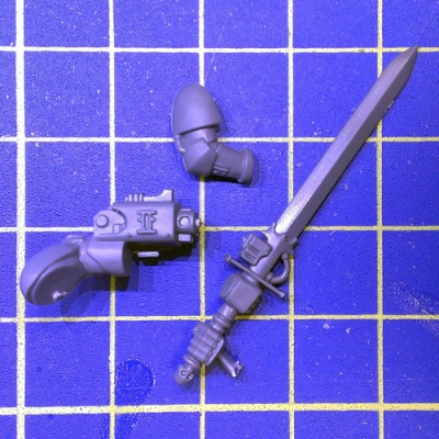 Wh40k GK Strike Squad Nemesis Force Sword A