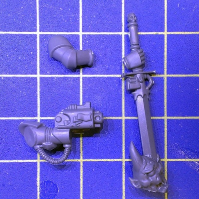 Wh40k GK Strike Squad Nemesis Force Sword C