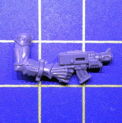 Wh40k Genestealer Cults Acolyte Hybrids Arm Autopistol Right A