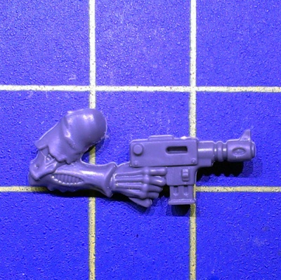 Wh40k Genestealer Cults Acolyte Hybrids Arm Autopistol Right B