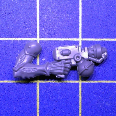 Wh40k Genestealer Cults Acolyte Hybrids Arm Hand Flamer Right B