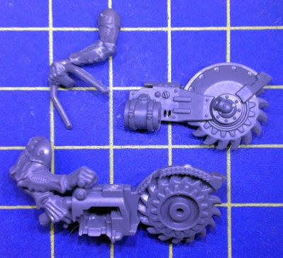 Wh40k Genestealer Cults Acolyte Hybrids Heavy Rock Saw