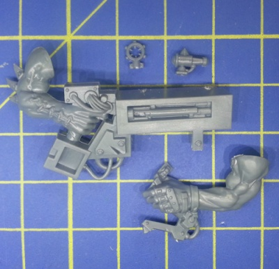 Wh40k Ork Flash Gitz Snazzgun Body B