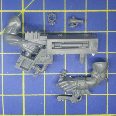 Wh40k Ork Flash Gitz Snazzgun Body C