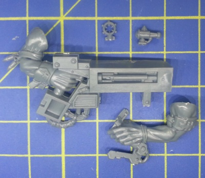 Wh40k Ork Flash Gitz Snazzgun Body D