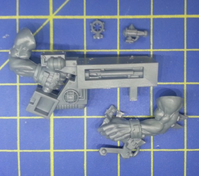 Wh40k Ork Flash Gitz Snazzgun Body E