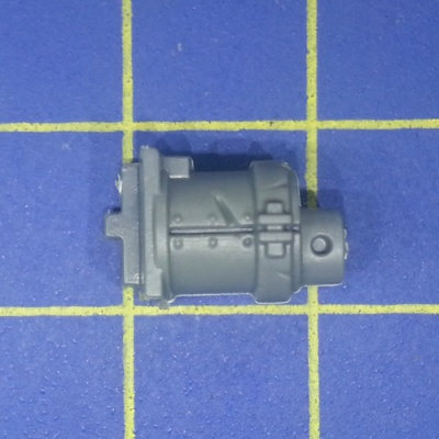 Wh40k Ork Flash Gitz Snazzgun Front Piece Weapon D