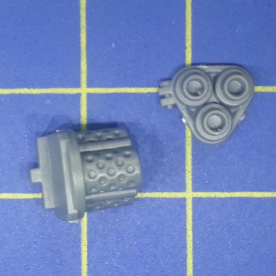 Wh40k Ork Flash Gitz Snazzgun Front Piece Weapon E