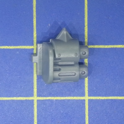 Wh40k Ork Flash Gitz Snazzgun Front Piece Weapon F