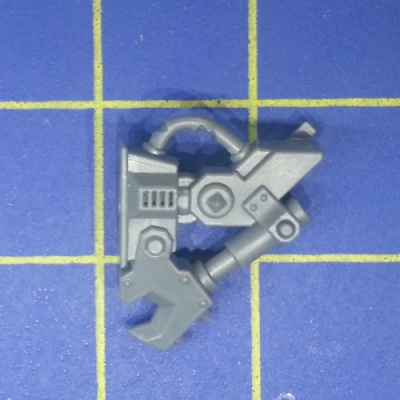 Wh40k Ork Flash Gitz Snazzgun Front Piece G