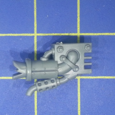 Wh40k Ork Flash Gitz Snazzgun Back Piece B